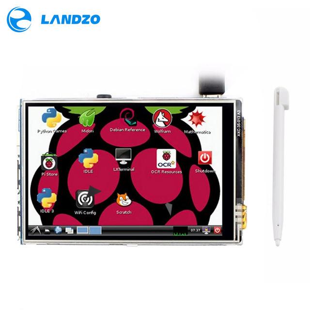 3.5 pulgadas tft lcd Para Raspberry Pi 2 Modelo B & B + raspberry pi RPI 3 (apoyo Sistema Raspbian)