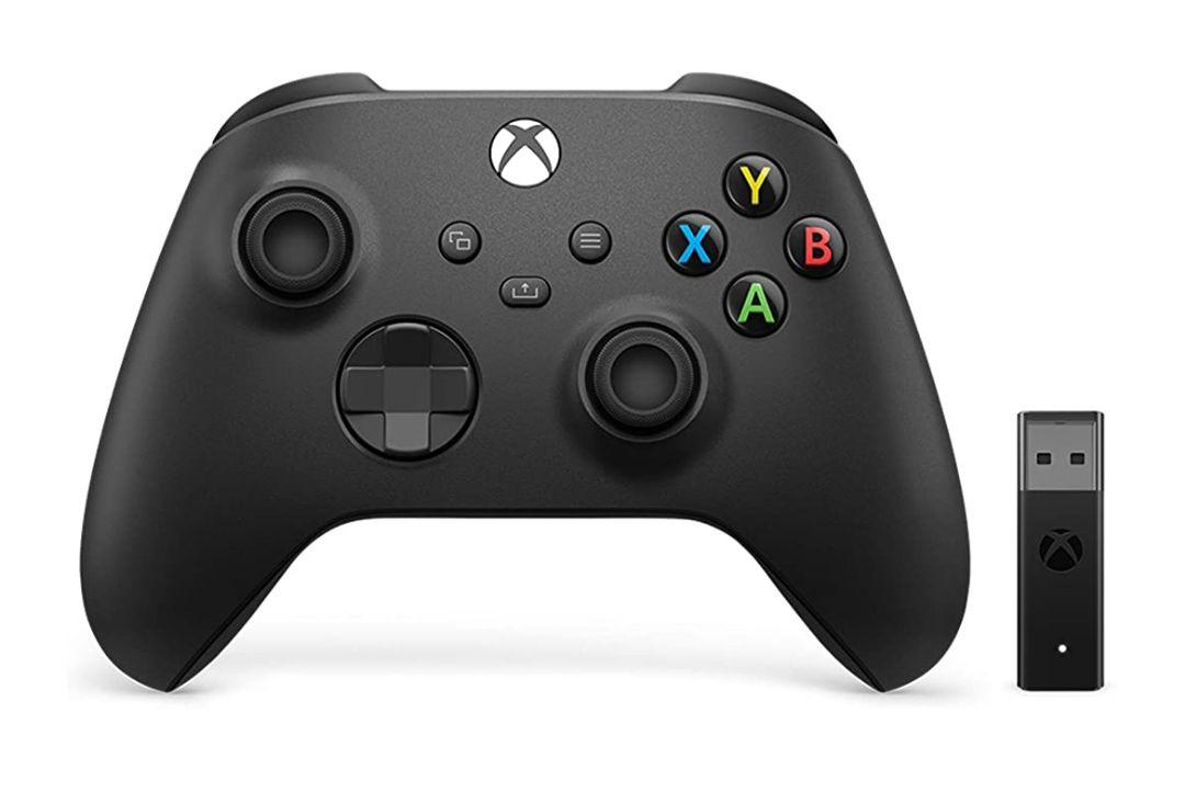 Mando Inalámbrico Xbox + Adaptador para Windows 10