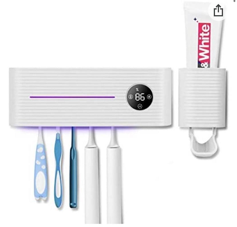 Portacepillo de Dientes Eléctrico Esterilizador UV