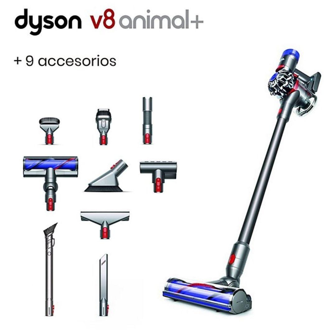 Aspirador V8 Animal Con 5 Accesorios + Handheld Kit (4 Accesorios Extra)