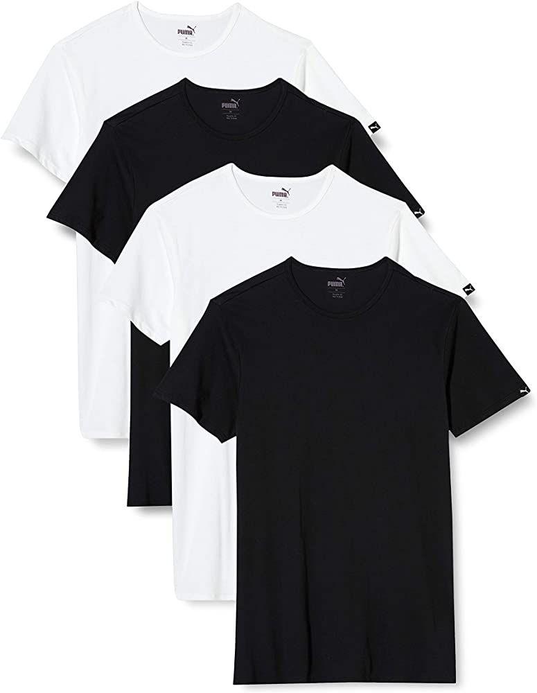 Pack de 4 camisetas básicas Puma (Tallas S)