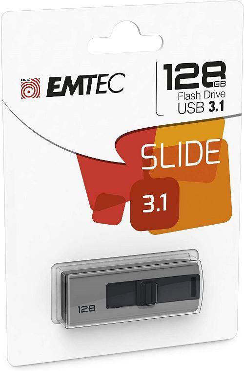 Pendrive Emtec B250 128 GB USB 3.1