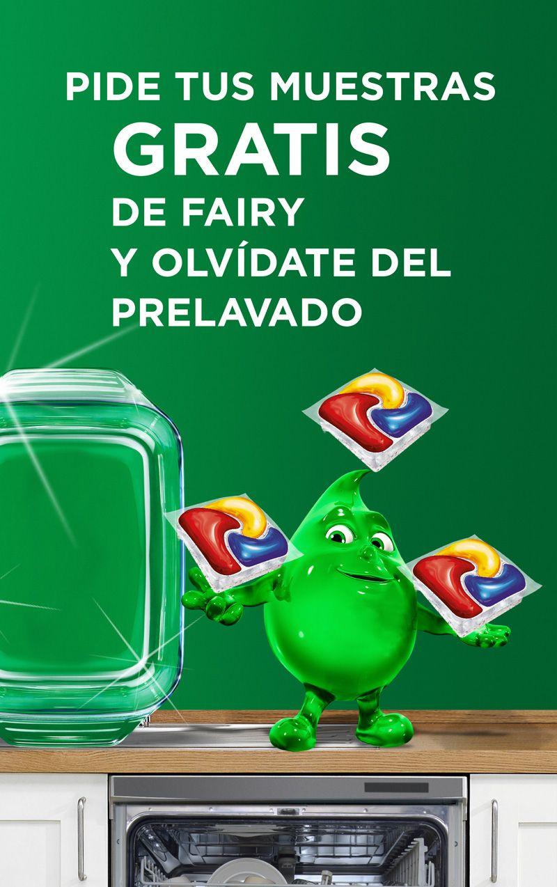 Muestras gratis Fairy platinum lavavajillas