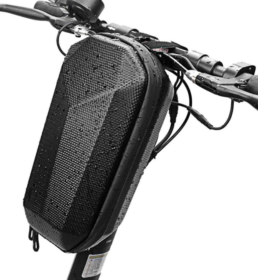 Bolsa impermeable para bicicleta y patinete, capacidad 4l.