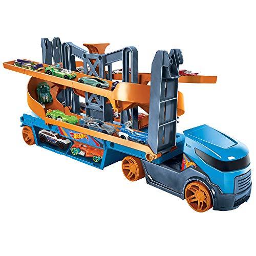Hot Wheels Camión lanzador de altura