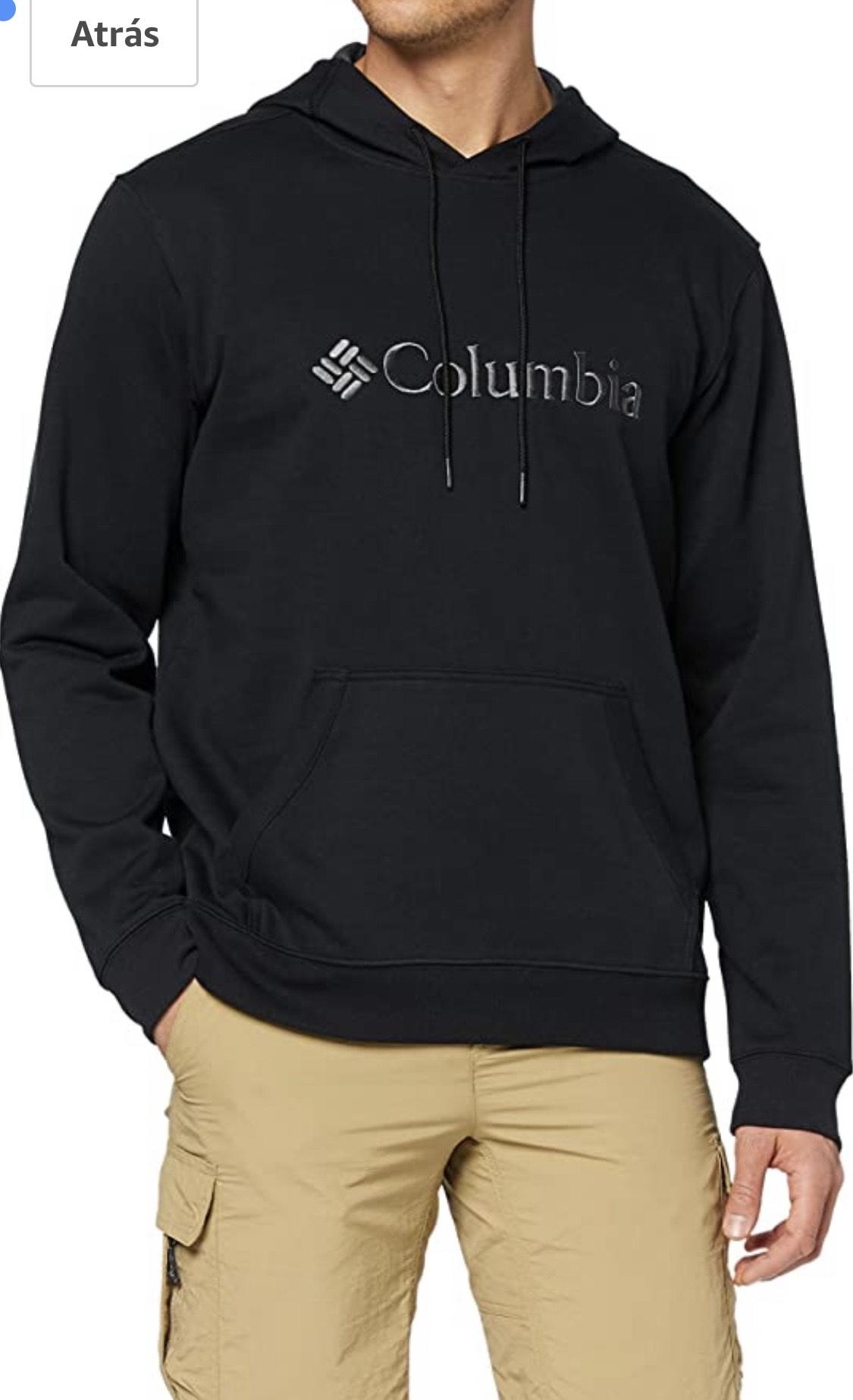 Columbia CSC Basic Logo II Sudadera con Capucha, Hombre, Black,Talla S