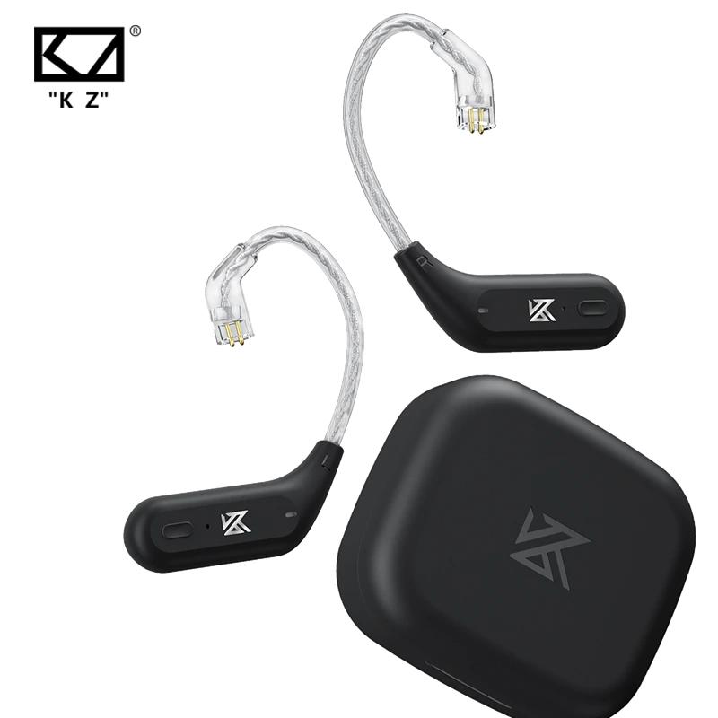KZ AZ09-Cable de actualización inalámbrica con Bluetooth 5,2, Conector de gancho de oído inalámbrico HIFI, PIN C, con estuche de carga