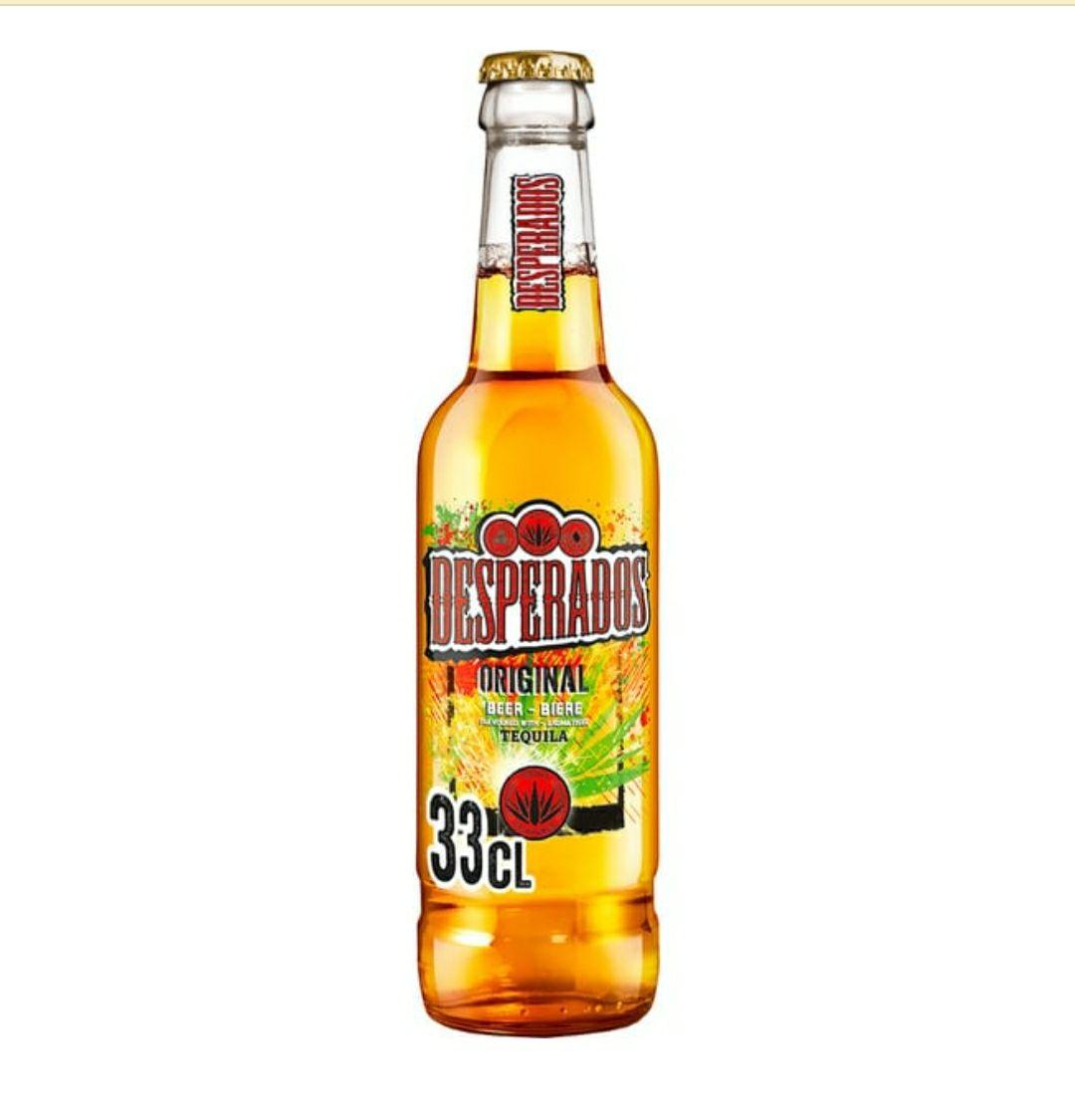 3x2 en cervezas Desperados con tequila o con mojito o con tequila, lima y cactus en El Corte Inglés e Hipercor