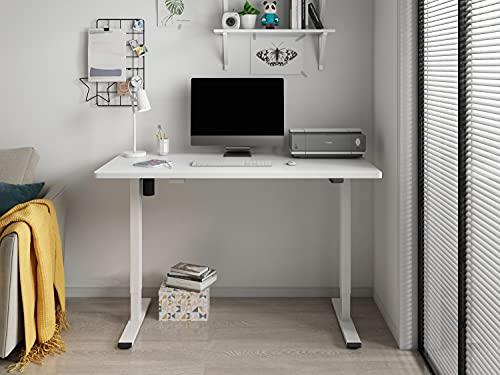 Soporte de escritorio ajustable en altura mesa elevable eléctrico 120cmx 60cm