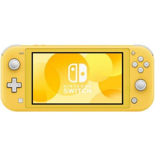 Nintendo Switch Lite [Amarillo, coral o gris] + regalo de funda, protector, auriculares y mopa