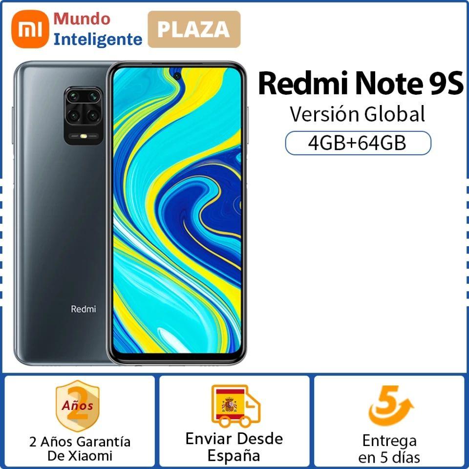 Redmi Note 9s 4/64 desde España