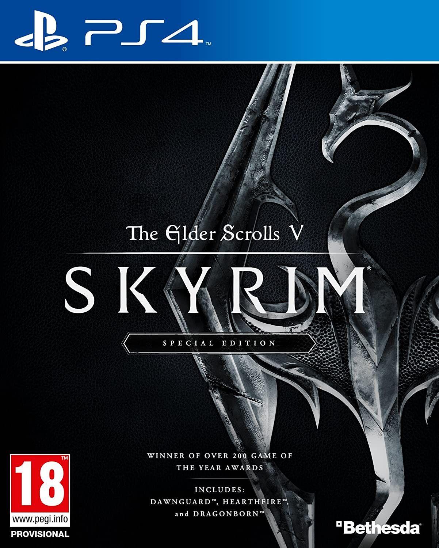 The Elder Scrolls V Skyrim Special Edition (PS4)