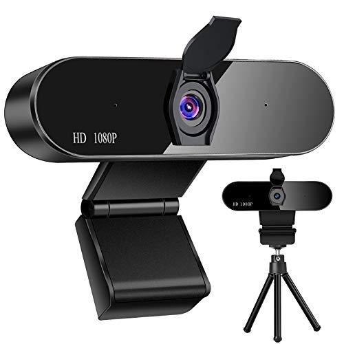 Webcam PC 1080P con Micrófono, Full HD