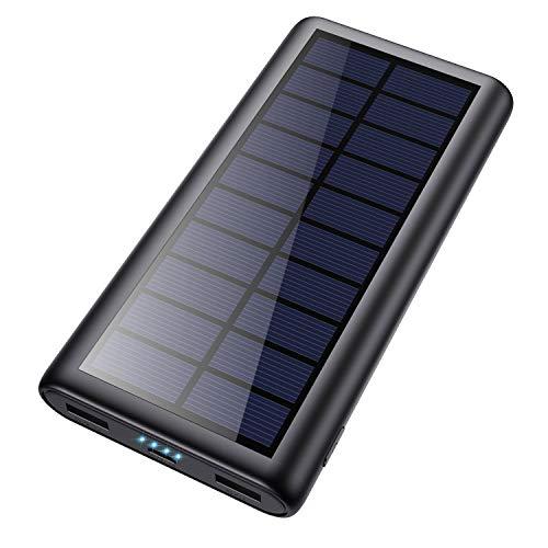 Cargador Solar 26800mAh Batería Externa