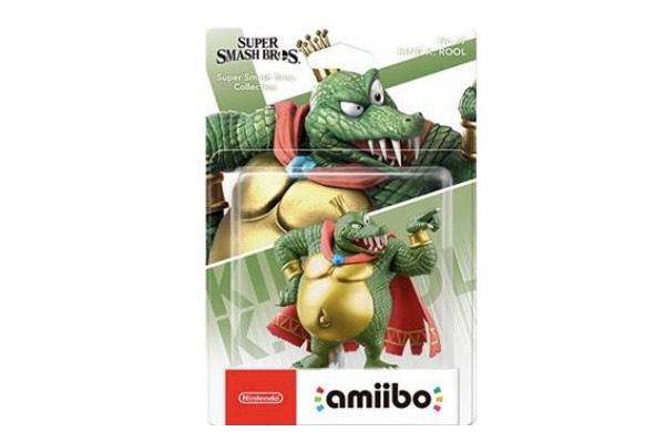 Figura Amiibo Super Smash Bros King K. Rool