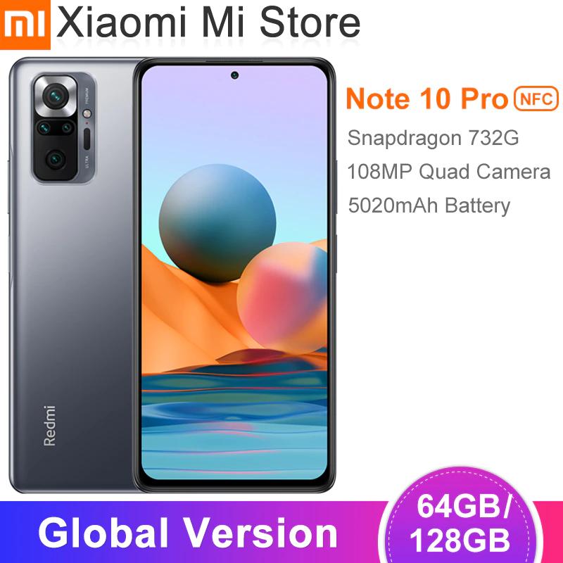 Xiaomi Redmi Note 10 Pro/Versión Global/ 6GB 64GB/Gris/Desde China/Xiaomi Mi Store