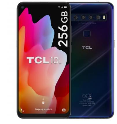 Móvil TCL 10L, 6GB de RAM + 256GB - Azul
