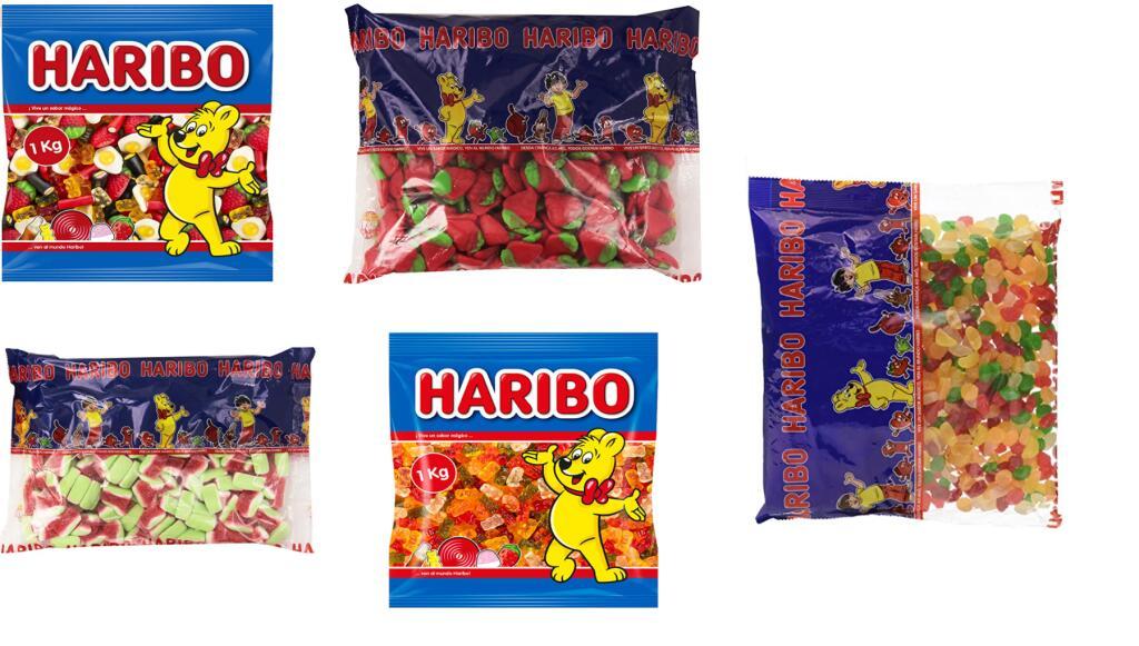 Recopilación Gominolas Haribo Desde 4.28€/Kilo