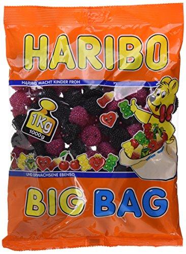 Más azuuuucaaar. Haribo Moras - Caramelo de goma - 1 kg