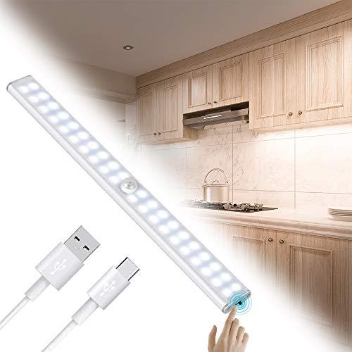 Luz Armario 40 LED,USB Recargable Luces LED