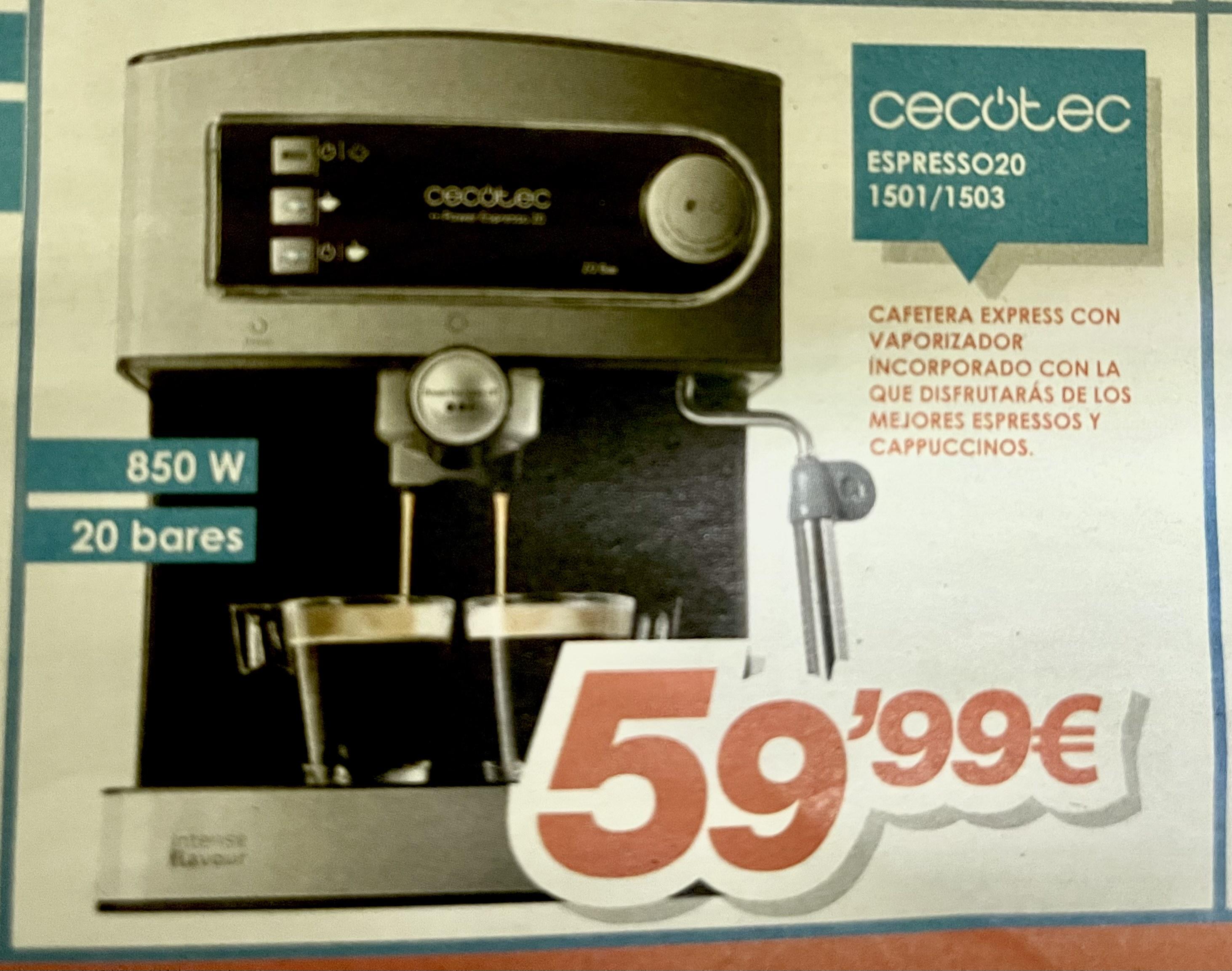 Cafetera cecotec express