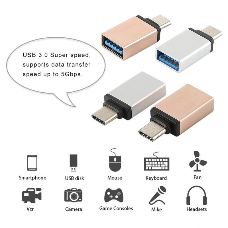 Adaptador USB a Tipo C