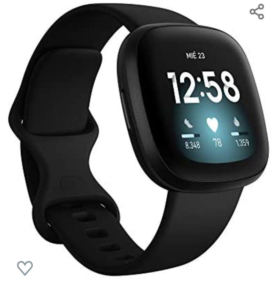 Fitbit Versa 3 - GPS ,Alexa integrada ( Varios colores)