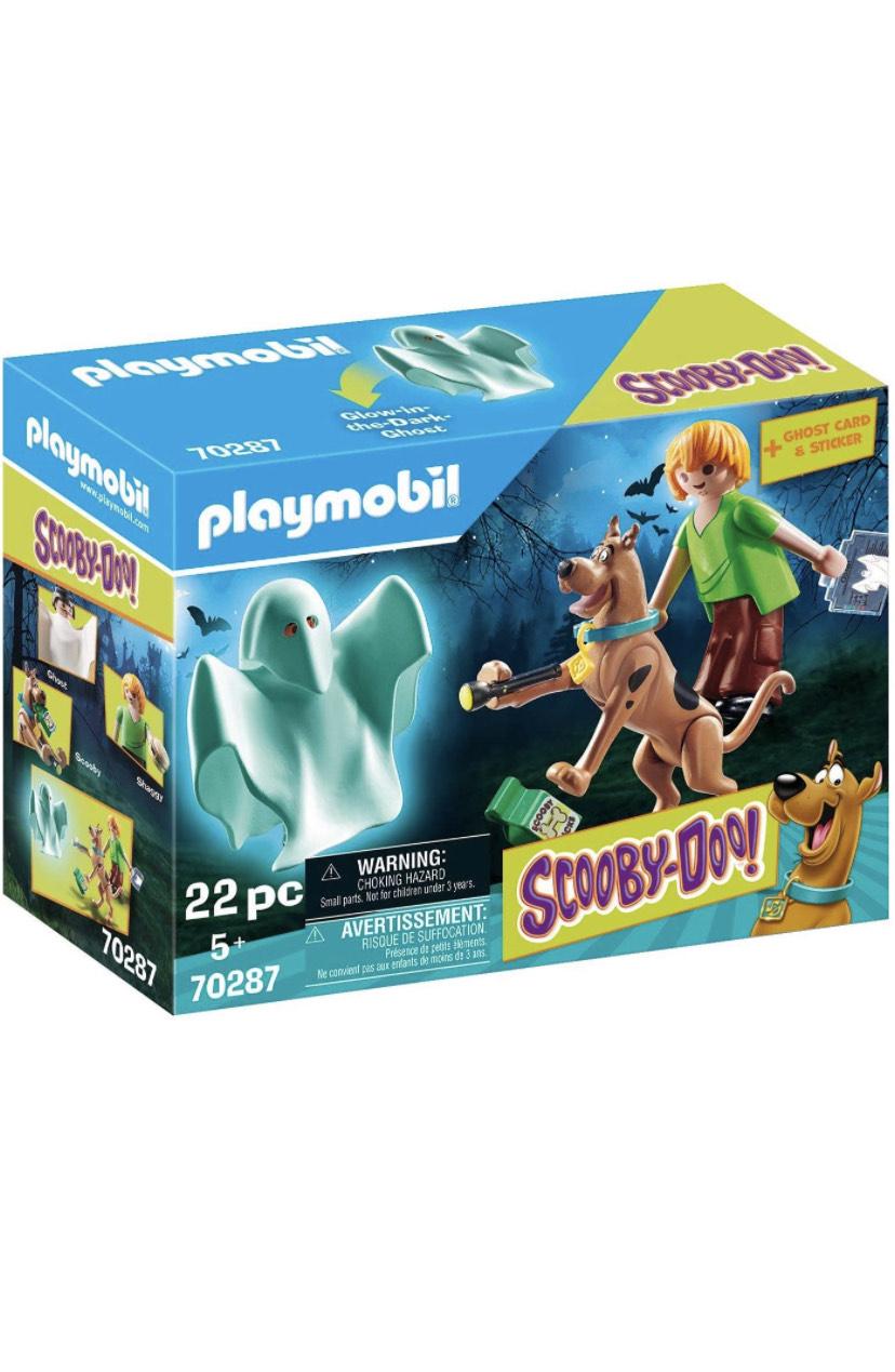 PLAYMOBIL SCOOBY DOO! 70287 Scooby & Shaggy con Fantasma