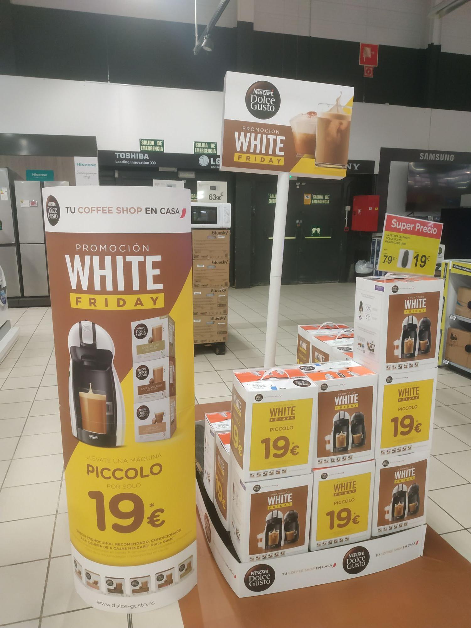 Cafetera Dolce Gusto con la compra de 6 cajas de Nescafé Dolce Gusto