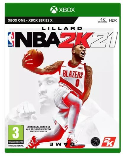 NBA 2K21 para XBOX