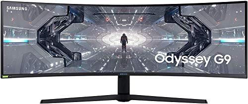 """Samsung Odyssey G9 49"""" QLED Dual QHD 240Hz G-Sync Compatible Curvo"""