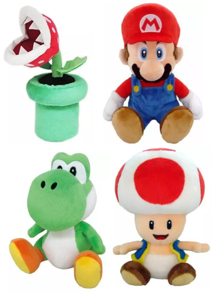 Peluches Mario Bros desde 10.9€