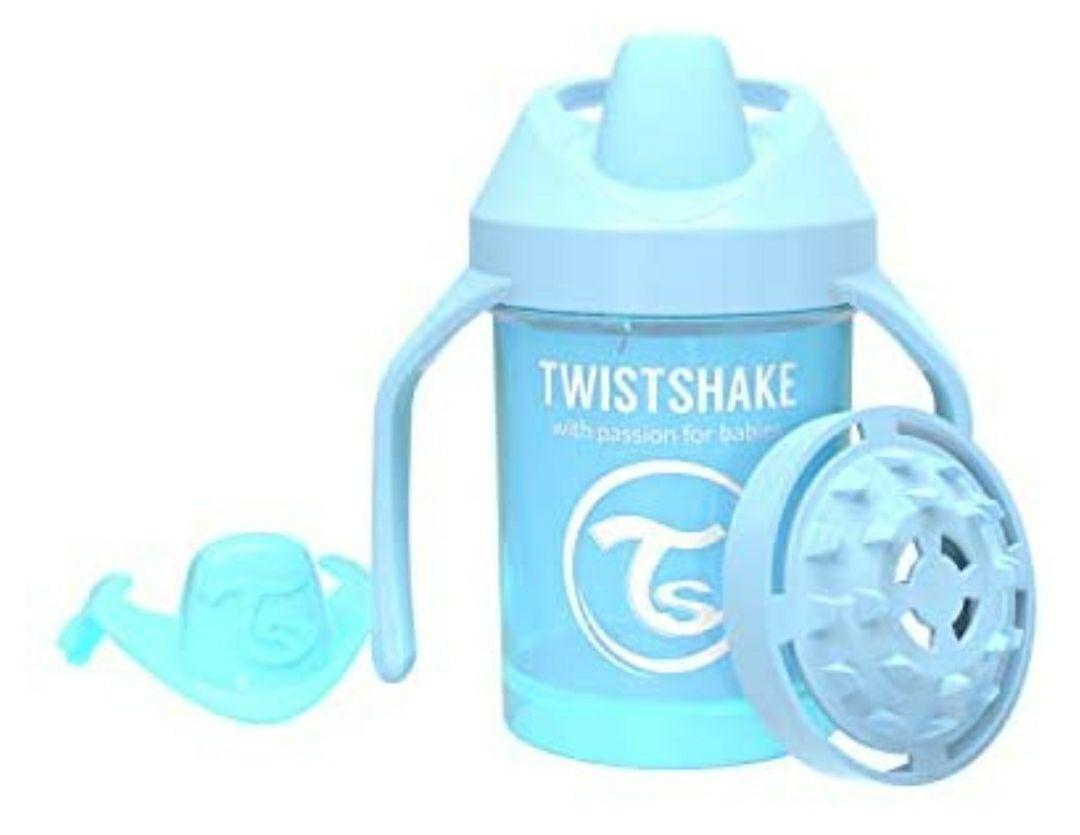 Vaso con Boquilla TWISHAKE Azul