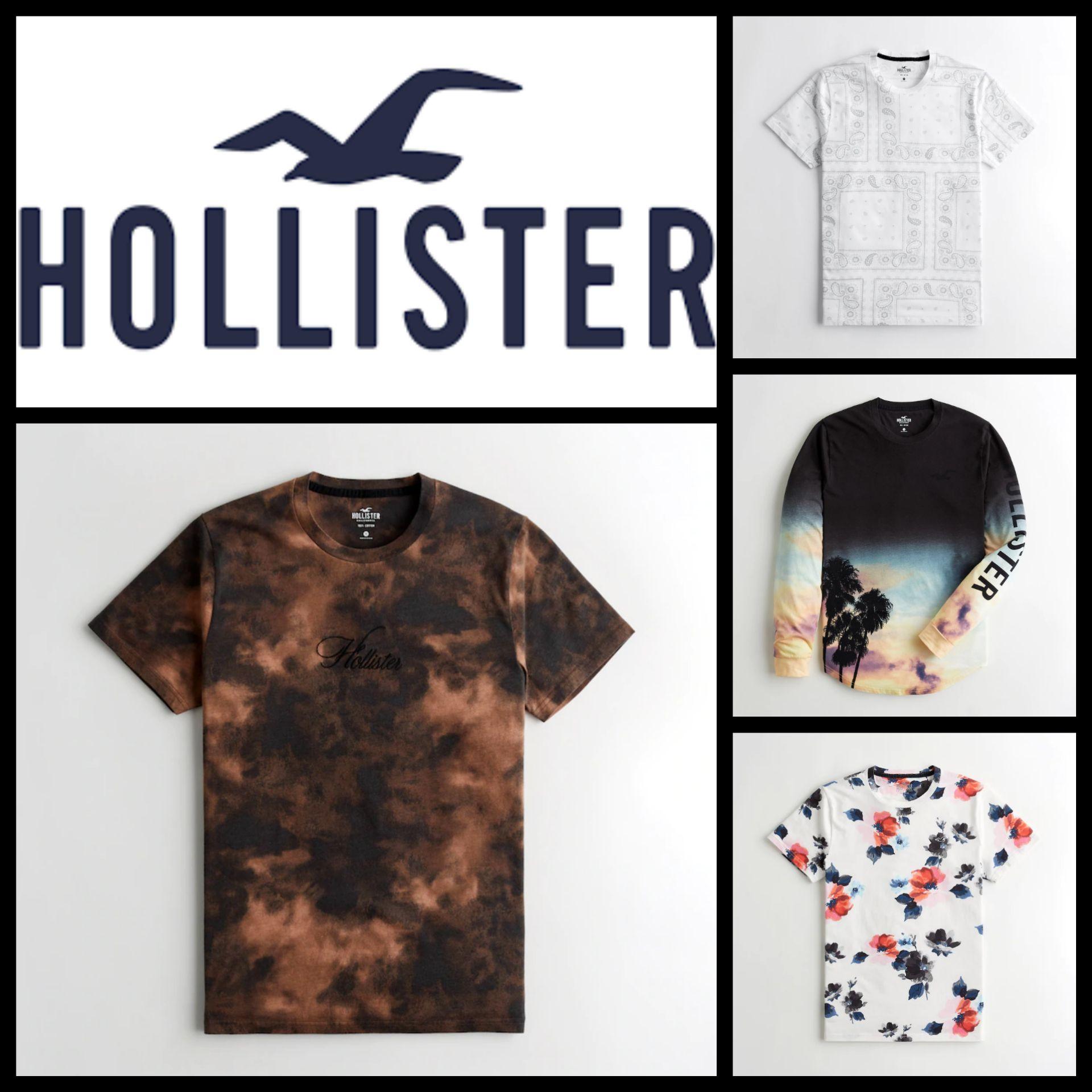 Recop. Camisetas Hollister para Hombre (2° Unidad al 50%)
