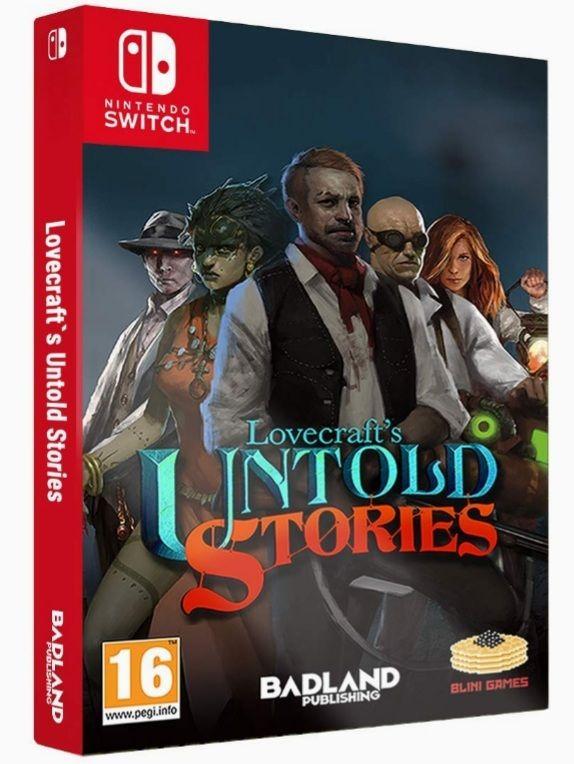 Lovecrafts Untold Stories Edición Coleccionista (Switch)