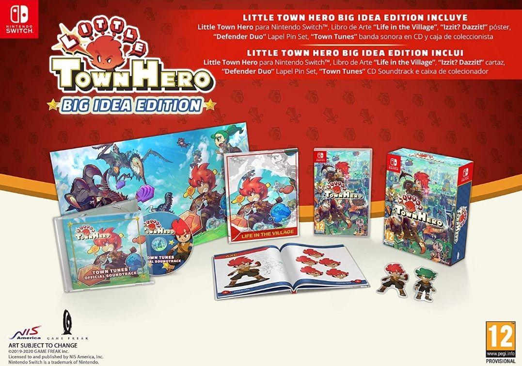 Little Town Hero Edición Big Idea Coleccionista (Switch)