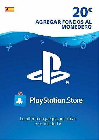 20€ de saldo para PlayStation Network (Incluye gastos gestión)