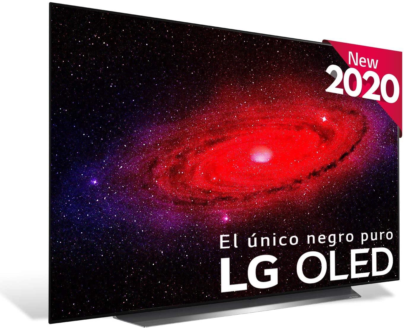 """TV 55"""" LG OLED 55CX6LA 4K IA, HDR Dolby Vision IQ y Smart TV (ECI Plus)"""