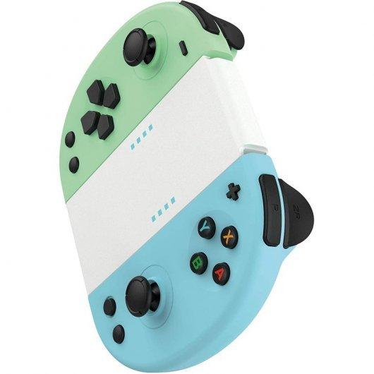 Mandos Joy-con Azul/Verde para Nintendo Switch Gioteck JC-20