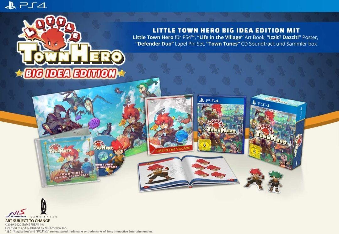 Little Town Hero Edición Big Idea Coleccionista - PS4 (Mediamarkt y Amazon)
