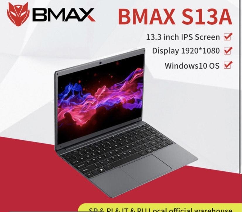 Notebook BMAX S13 8GB/128GB SSD desde España