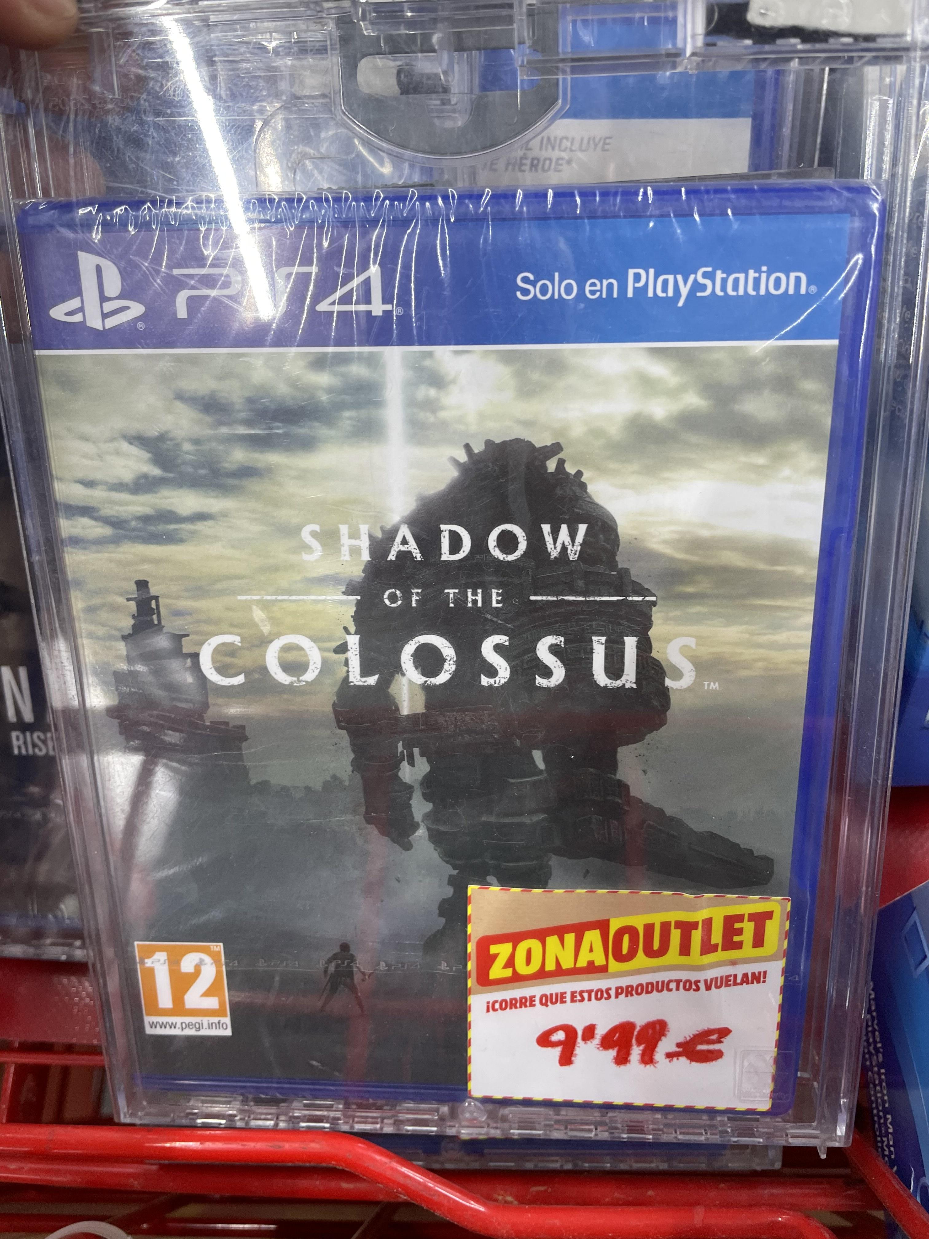 PS4 Shadow of the Colossus Mediamarkt de Goya en Madrid