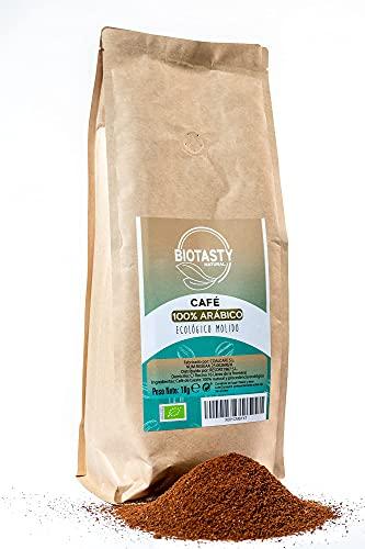 café molido 100% arábico ECOLOGICO