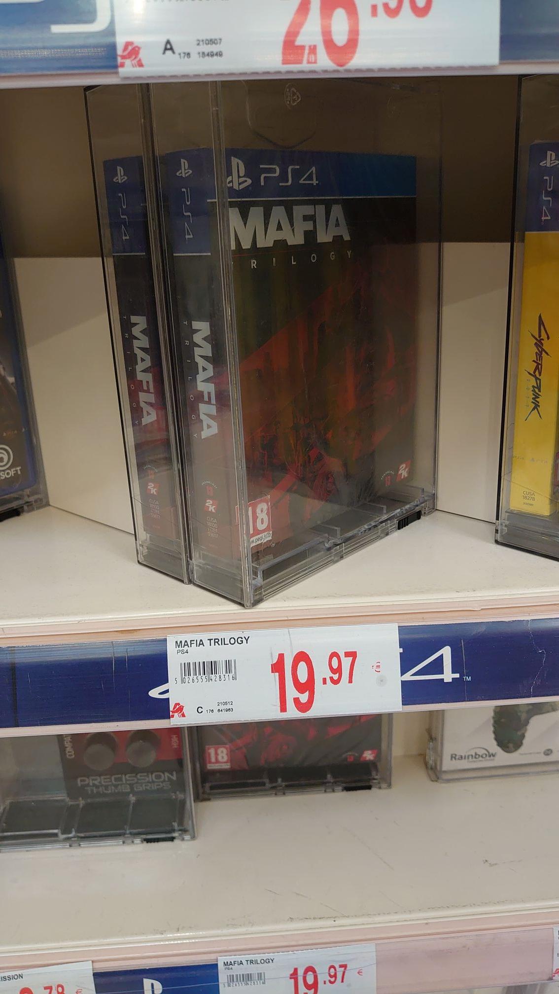 Mafia Trilogy PS4 en Alcampo ferrol