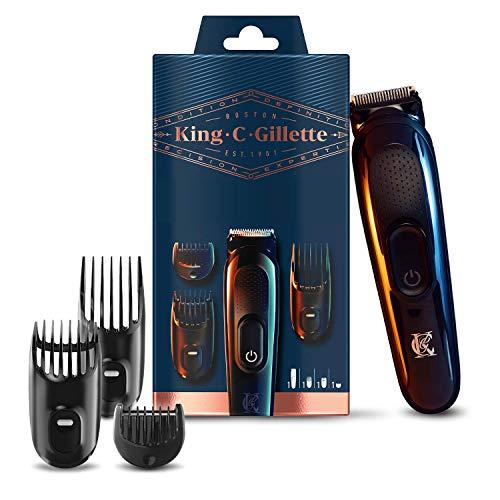 King C. Gillette Recortadora de Barba y Cortapelos Inalámbrica