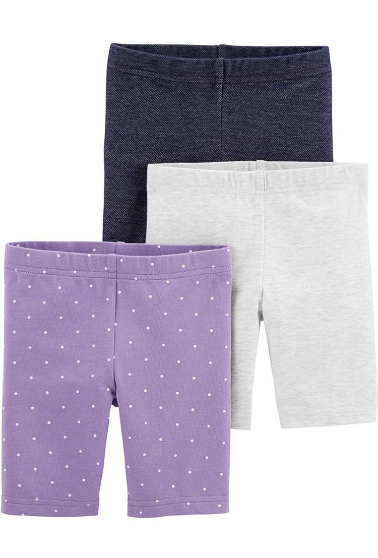 Simple Joys by Carter's 3 Pantalones Cortos