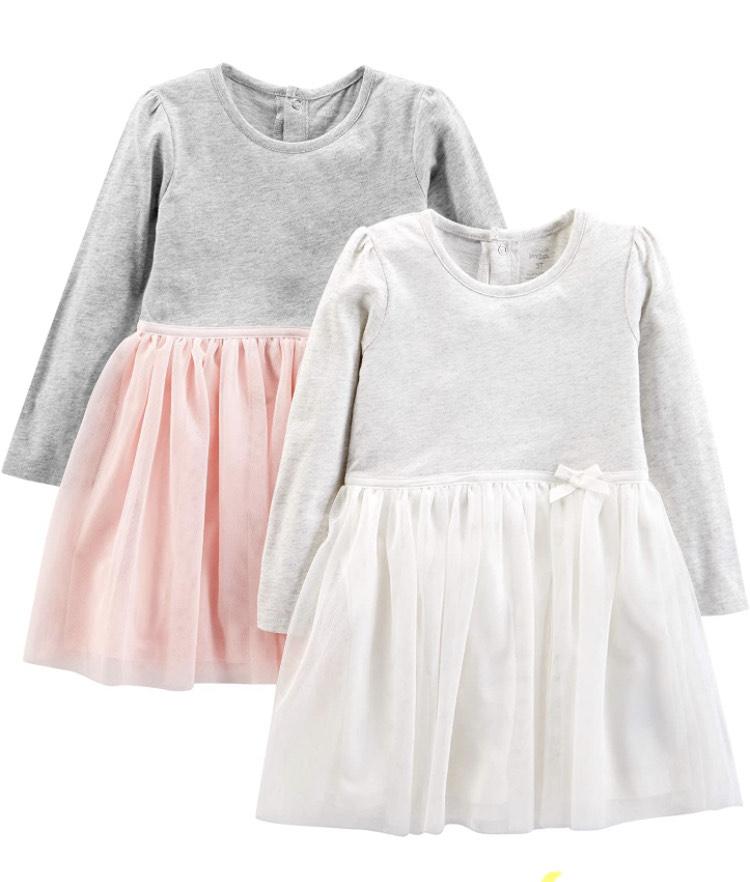 2 vestidos. Talla 3 años
