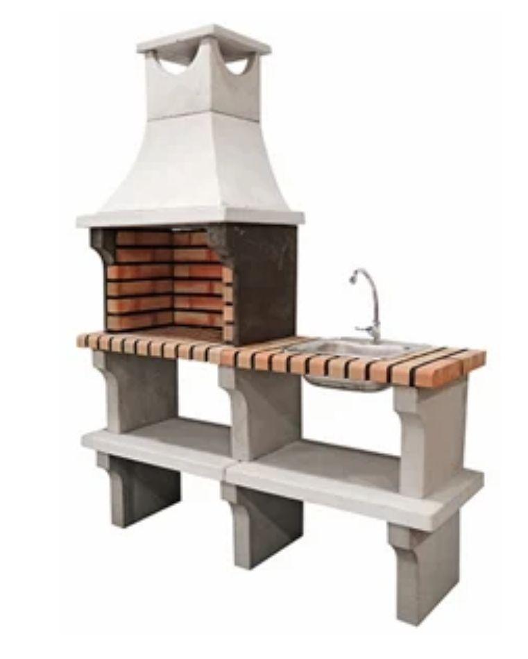 Barbacoa de obra con campana Maryland 1820