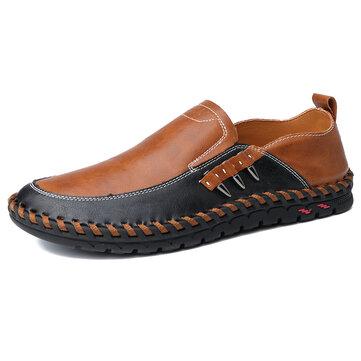 Zapatos para hombre de cuero poliuretano