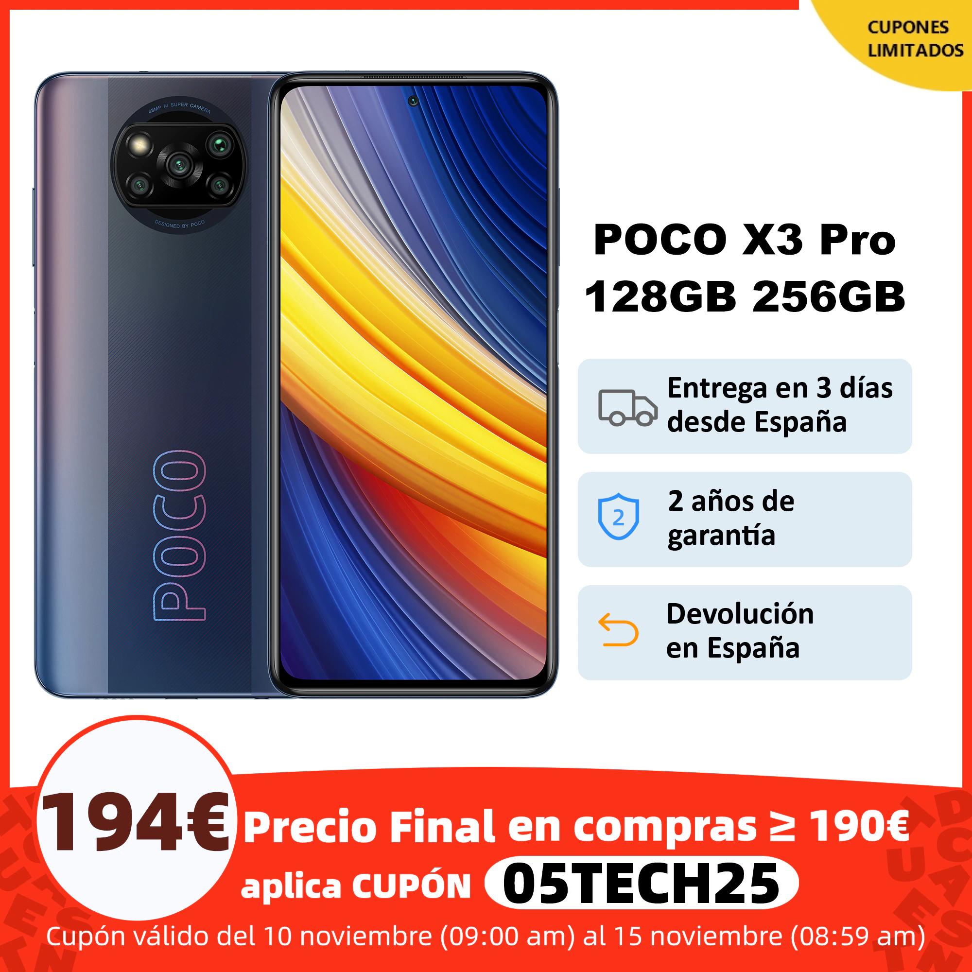 POCO X3 Pro 6GB 128GB / 8GB 256GB Versión Global